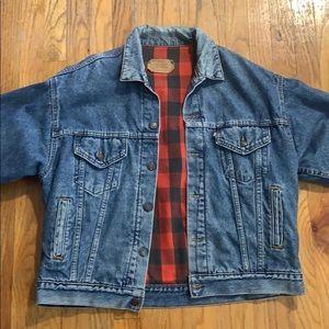 Vintage Levi's Flannel Jean Denim Jacket 80's 70's